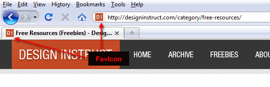 Add a Favicon