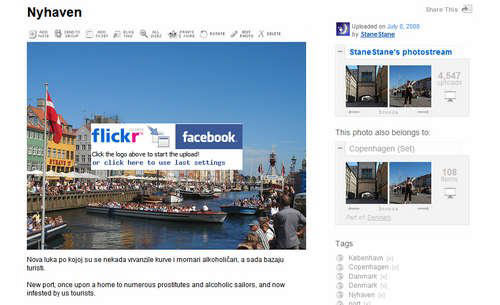 flickr2facebook